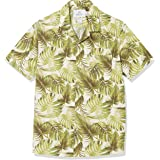 Amazon Brand - 28 Palms Men's Standard-Fit 100% Cotton Hawaiian Shirt