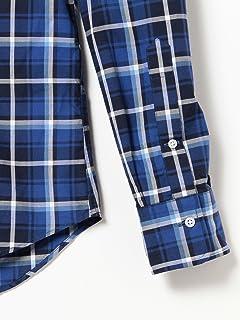 Plaid Buttondown Shirt 11-11-3875-107: Blue