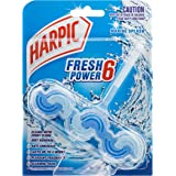 Harpic Fresh Power Toilet Block Cleaner, Marine Splash, 39g