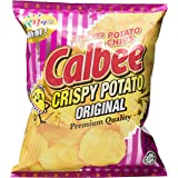 Calbee Crispy Potato Chips, Original, 80g