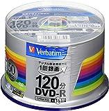 バーベイタムジャパン(Verbatim Japan) 1回録画用 DVD-R CPRM 120分 50枚 シルバープリン…