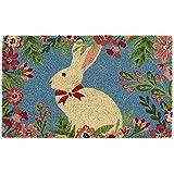 DII Spring/Summer Doormat, 18x30x0.5, Easter Bunny