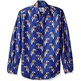 Azaro Uomo Men's Long Sleeve Dress Shirt Casual Button Down Slim Fit
