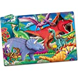 The Learning Journey Puzzle Doubles, Glow In The Dark, Dino