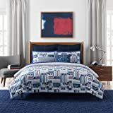 Tommy Hilfiger Ditch Plains Comforter Set, King, Multi