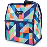 PackIt Freezable Lunch Bag with Zip Closure, Paradise Breeze