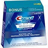 Crest 3D White Professional Effects Whitestrips 20 Treatments + Crest 3D White 1 Hour Express Whitestrips 2 Treatments - Teet