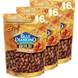 Blue Diamond Almonds, Bold Habanero BBQ, 16 Ounce (Pack of 3)
