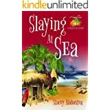 Slaying at Sea (Hang Ten Australian Cozy Mystery Book 3)