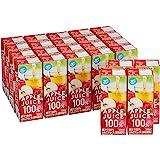 [Amazonブランド]Happy Belly アップル ジュース 100% 200ml×24本