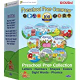 Preschool Prep Series Collection - 10 DVD Boxed Set (Meet the Letters, Meet the Numbers, Meet the Shapes, Meet the Colors, Me