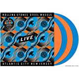 Steel Wheels Live (Live From Atlantic City, Nj, 1989) (4Lp/Tangerine/Sky Blue Vinyl)
