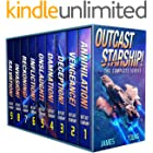 Outcast Starship: The Complete Series (Books 1-9) (Complete Series Box Sets)