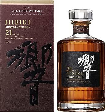 サントリー ウイスキー 響 21年 [日本 700ml ] [ギフトBox入り]