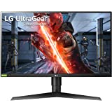 LG Electronics UltraGear 27GN750-B 27 Inch Full HD 1ms and 240HZ Monitor with G-SYNC Compatibility and Tilt, Height and Pivot