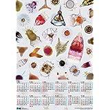イメージミッション木鏡社 放散虫カレンダー2020 A2 CAR20A2