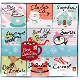 Modern Gourmet Foods, Hot Chocolate Variety Gift Set, Includes 9 Delicious Hot Chocolate Flavours Like Salted Caramel, Chocol