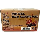 Bel CC4K BBQ Charcoal, 4kg Black