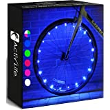 Activ Life Bike Wheel Lights Best Gifts for Men for Easter Basket Stuffing & Birthday Gifts, Teens & Boys. Top Unique Present