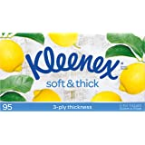 Kleenex Facial Everyday Kleenex Soft and Thick Facial Tissues, 95 Sheets