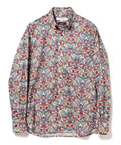 Beams Lights Liberty Print Buttondown Shirt 51-11-0493-012