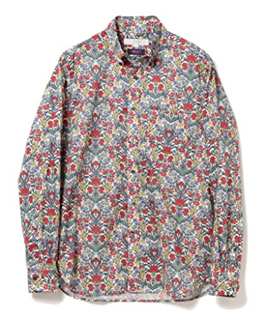 Liberty Print Buttondown Shirt 51-11-0493-012: Flower