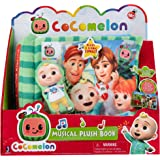 Cocomelon Nursery Rhyme Singing Time Plush Book, Featuring Tethered JJ Plush Character Toy, for JJ's Daily Musical Adventures