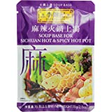 Lee Kum Kee Soup Base for Sichuan Hot and Spicy Hot Pot, 70 g