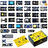 KEYESTUDIO 37 in 1 Sensor Kit Programming Starter Kit for Arduino Raspberry Pi Learning Project STEM Education, Electronics C