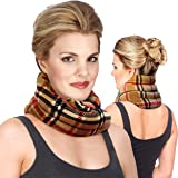 Sunny Bay Hands-Free Unscented Neck Heating Wrap, Heat Therapy Pad for Sore Neck, Back & Shoulder Muscle Pain Relief-Thermal,