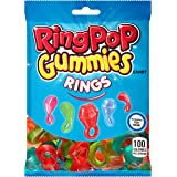 Ring Pop Gummies Rings - Individual 12 Packs Assorted Gummy Candy Flavors (5 Oz Bag) - Fun Candy for Birthdays and Celebratio