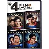4 Film Favorites: Superman (Superman II: Special Edition, Superman III: Deluxe Edition, Superman IV: Deluxe Edition, Superman