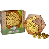 Lo Shu Square Number Puzzle for Adults by True Genius | Solid Wood Brain Teaser for Math and STEM Challenges