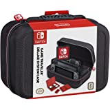Nintendo Switch System Carrying Case – Protective Deluxe Travel System Case – Black Ballistic Nylon Exterior – Official Ninte