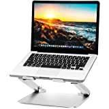 Soundance Laptop Stand Adjustable Riser Compatible with Apple Mac MacBook Pro Air, Ergonomic Aluminum Holder for 10-17.3 Inch