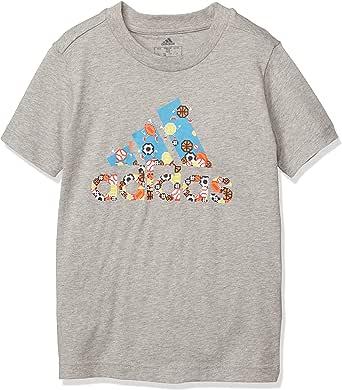 [アディダス] キッズトレーニングウェア B MH GAMEイラスト BOS Tシャツ(GUW25)