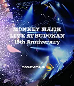 【Amazon.co.jp限定】LIVE at BUDOKAN -15th Anniversary- (Blu-ray+CD2枚組)(メガジャケ付き)
