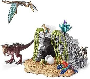 シュライヒ 恐竜 恐竜と洞窟セット フィギュア 42261