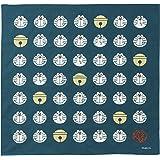 丸眞 風呂敷 ドラえもん 70×70cm フェイスドット 日本製 泉州産 綿100% 2905000900
