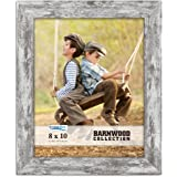 Icona Bay Picture Frame (Pony Gray, 1 Pack), Photo Frame,Home,Barnwood Collection