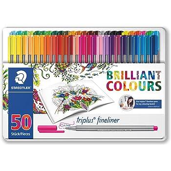 Staedtler Johanna Basford Triplus Fineliner Pens For Adult Coloring