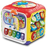 VTech 80-183461 Sort and Discover Activity Cube (Frustration Free Packaging), Great Gift For Kids, Toddlers, Toy for Boys and