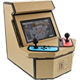 Nyko PixelQuest Arcade Kit - Constructible Arcade Kit with Customizable Pixel Art Sticker Kit and Arcade Stick Toppers for Ni