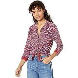 Lucky Brand Women's Long Sleeve Printed Shirting
