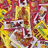 菓道珍味5種類 酢だこさん太郎 のし梅さん太郎 甘いか太郎 (メンタイ風味&キムチ味) のしいか太郎 駄菓子50枚セット