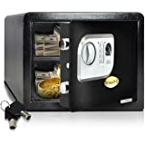 SereneLife Safe Box | Fire Safe Box | Safes and Lock Boxes | Fireproof Lock Box Safe | Digital Safe Box | Home Safe Box | Com