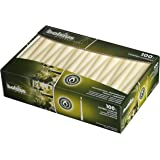 BOLSIUS Long Household Ivory Taper Candles - 10-inch Unscented Premium Quality Wax - 7.5 Hour Long Burning Dripless Candles B