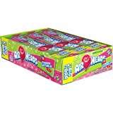 AirHeads Candy 2-in-1 Big Bar, Strawberry and Watermelon, Non Melting, 1.50 oz (Bulk Pack of 24)