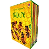 Usborne Beginners Nature 10 Books Box Set Collection (Reptiles, Rainforests, Trees, How Flowers Grow, Spiders, Bugs, Ants & M
