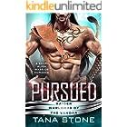 Pursued: A Sci-Fi Alien Warrior Romance (Raider Warlords of the Vandar Book 4)